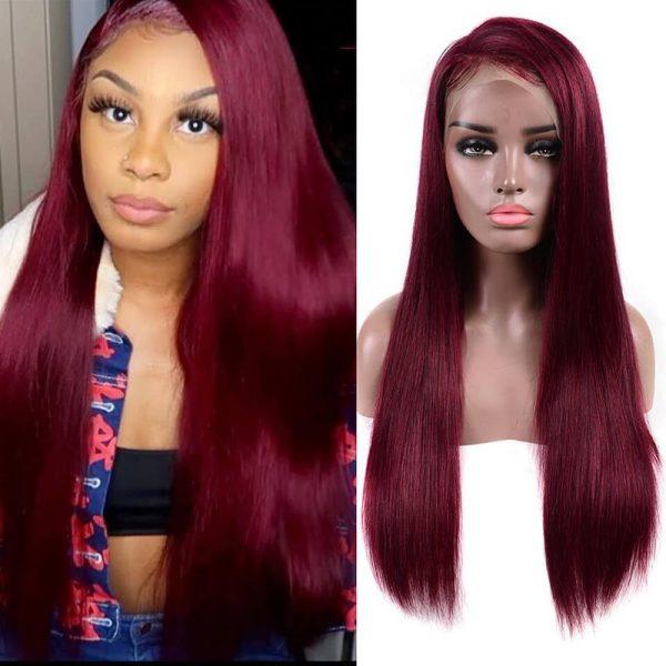 99j straihgt full lace wig