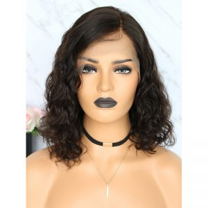 Boby Wave Shot Lace Front Bob Wig