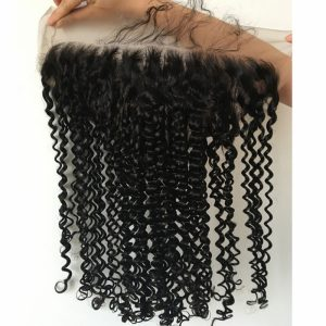 13x6 Lace Frontal Curly Remy hair With Baby Hair