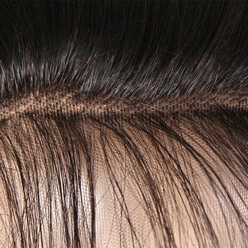 360 Lace Frontal Natural Wave Natural Remy Human Hair with Baby Hair