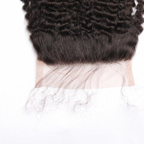 Curly 5×5 lace closure new arrival products virgin hair