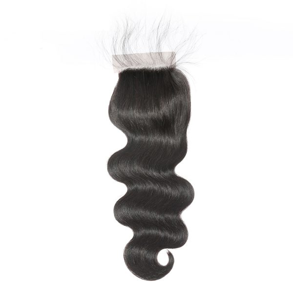lace closure with baby hair