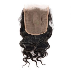Soft Loose Wave 6x6 Closure Human Hair Lace With Baby Hair Closure