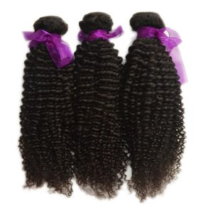 Cambodian Curly human hair Natural Color bundle deals