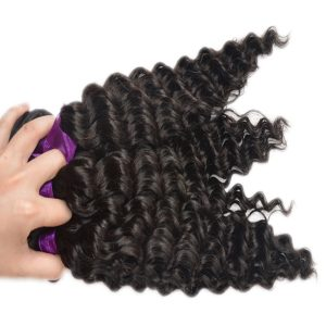 Cambodian Deep Wave human hair Natural Color bundle deals