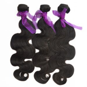 Cambodian Body wave human hair Natural Color bundle deals