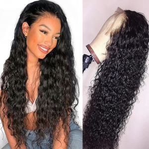 Curly Pre Plucked 360 Lace Wigs