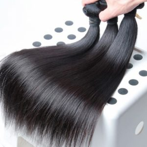 Premium Grade Mongolian straight hair bundle deals