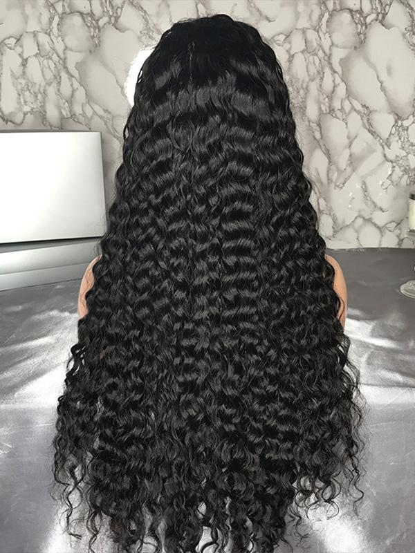 deep wave lace wigs