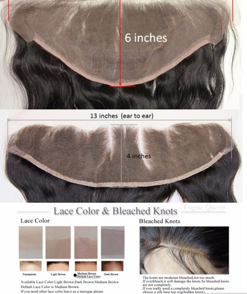 Body Wave Bundles With Lace Frontal