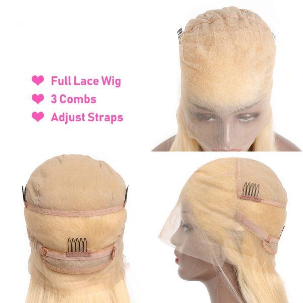 wholesale blond lace wig