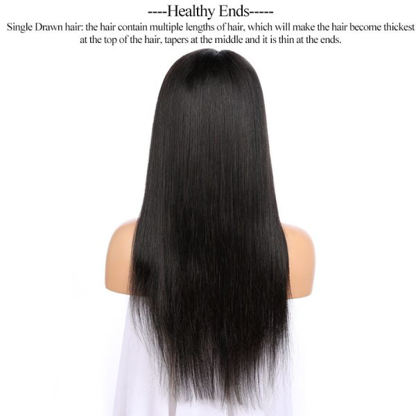 full lace wig straight mink hair (1)