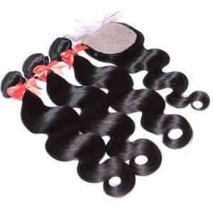 brazilian hair with silk base closure