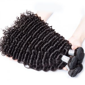 Mink Shiny Deep Wave Hair Bundles 1-2pcs