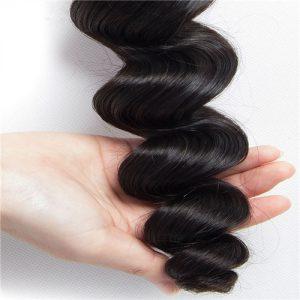 Top quality Mink Loose Wave Hair Bundles 1-2pcs