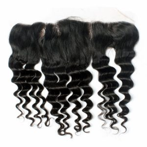 More Wave Virgin Human Hair With 13×4 Lace Frontals Closures