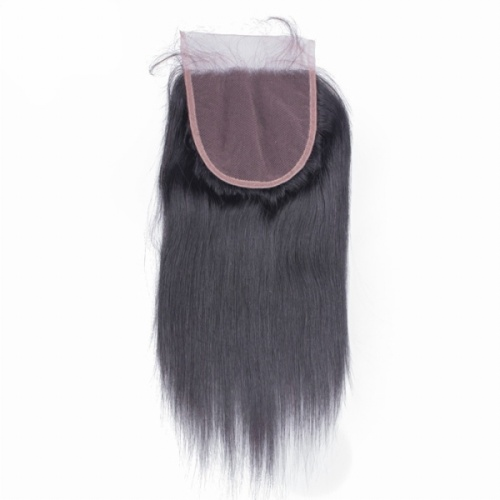 Beautyforever Straight Hair 5x5 Lace Closure Three/Middle/Free Part