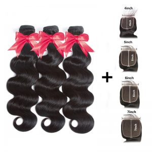 3 hair with closure deal