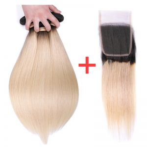 1b 60 hair wtih closure (