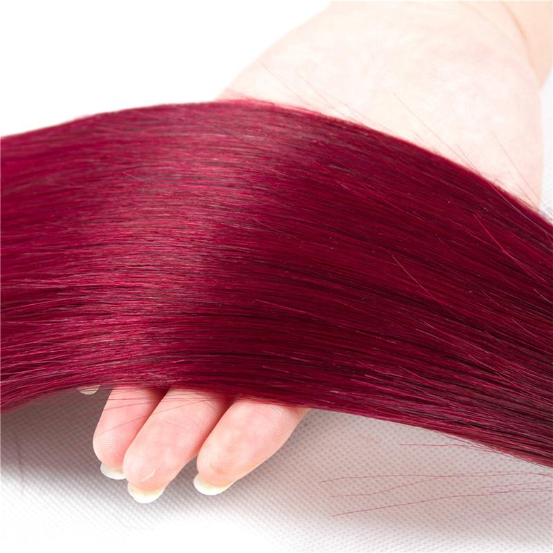 1b burguandy hair