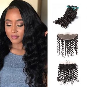 Virgin Hair With Frontal More Wave
