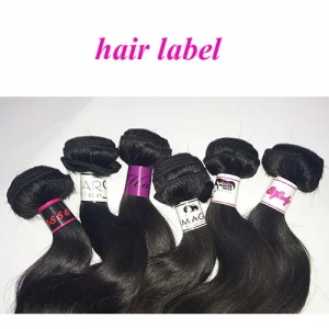 hair labels