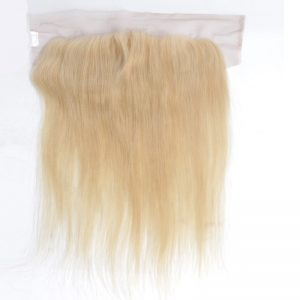 100% Virgin Brazilian Human Hair Transparent 613 Thin Swiss Lace 13X6 Lace Frontals Straight