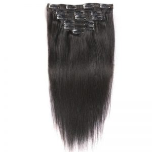 Straight Clip ins Hair Extensions