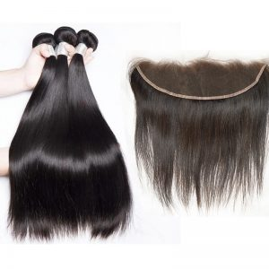 Straight Bundle Deals With HD 13x4 Frontal